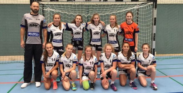 Handball: Bericht zur weiblichen C-Jugend Oberliga-Qualifikation vom 24.06.2017 Gruppe 1 in Tönisvorst