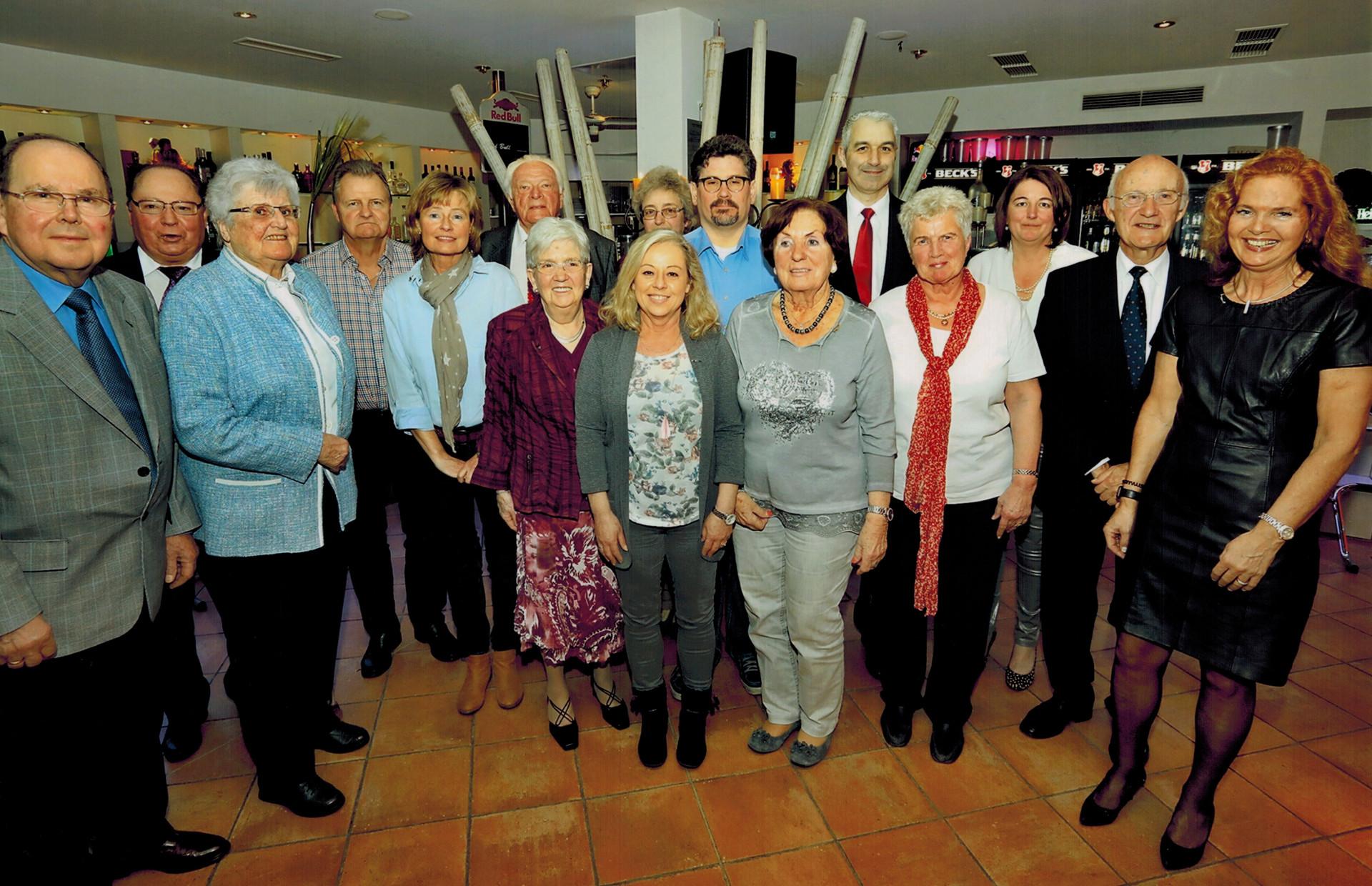 Jubilarehrung 2016: Ohligser TV ehrt langjährige Mitglieder