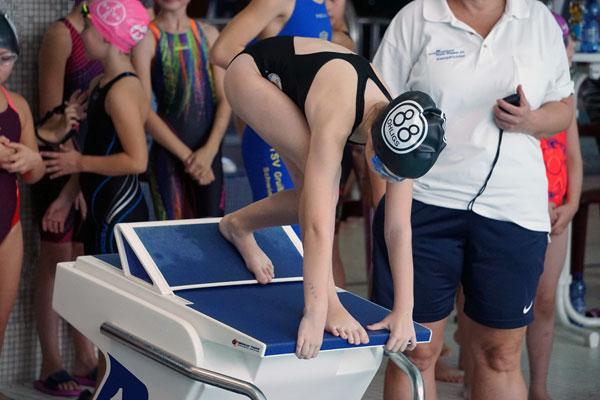Schwimmen: Drei Freistilmeister vom OTV